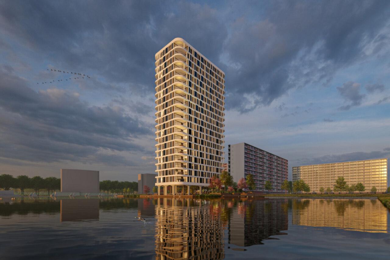 Rotterdam, Bernini- en Bramantetoren